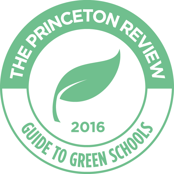 princeton review. A guid to green schools