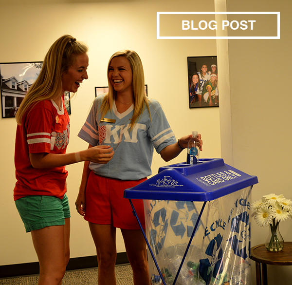 Reinventing Recycling on Campus