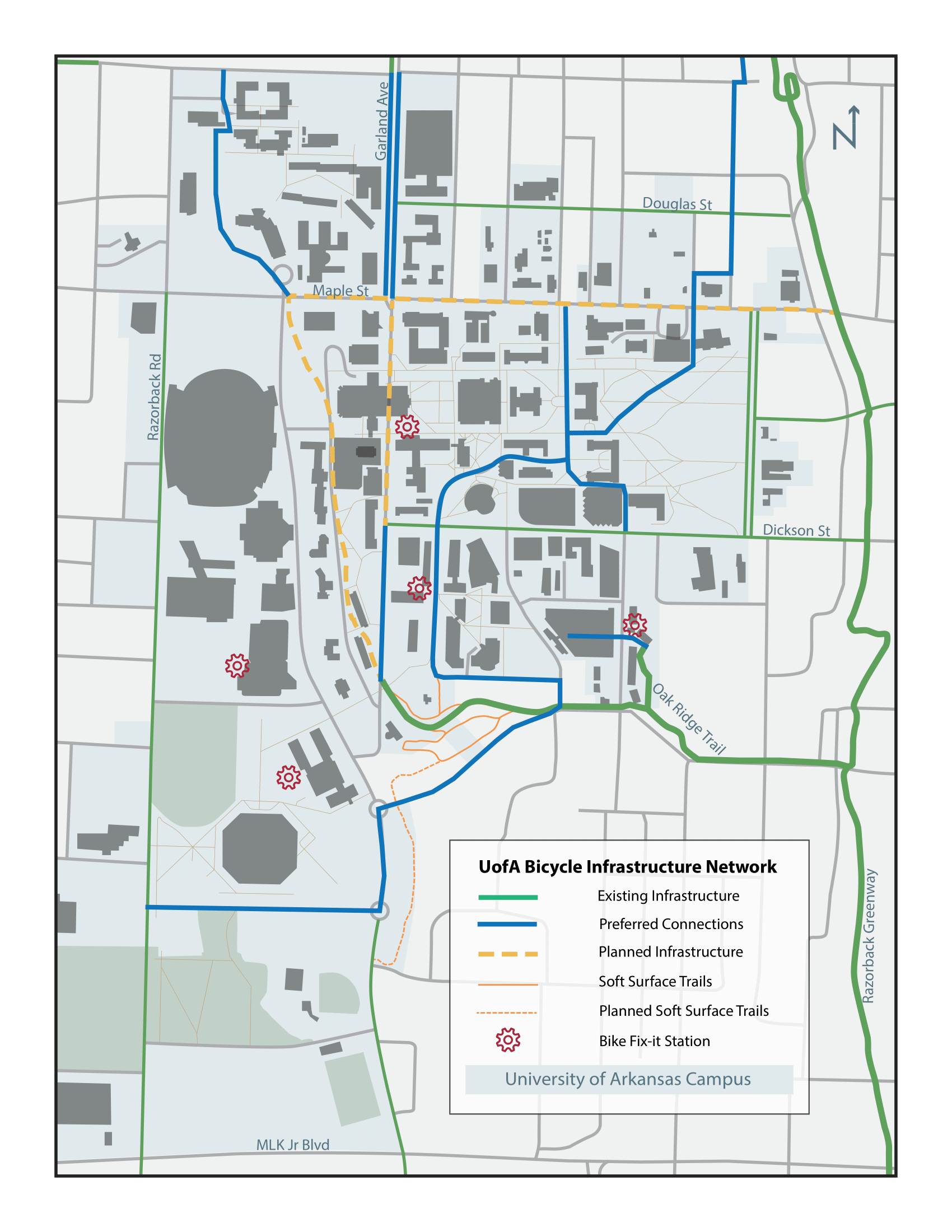infrastructure map